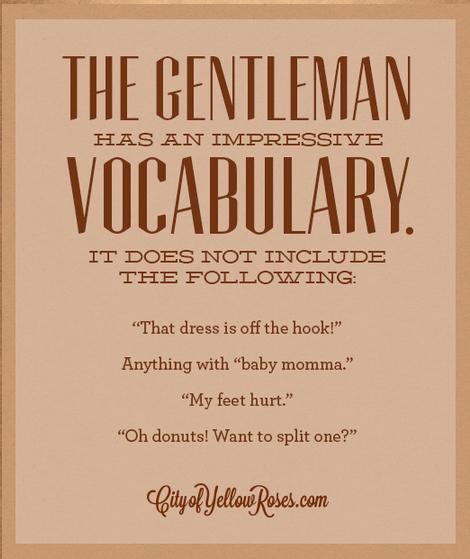 Руководство джентльменам